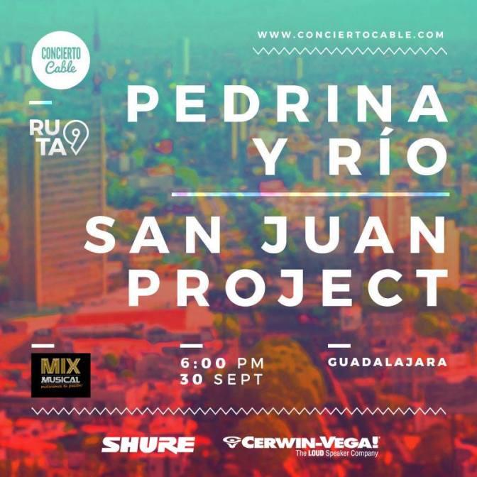 Segunda Parada #Ruta 9 Pedrina y Río + San Juan Project