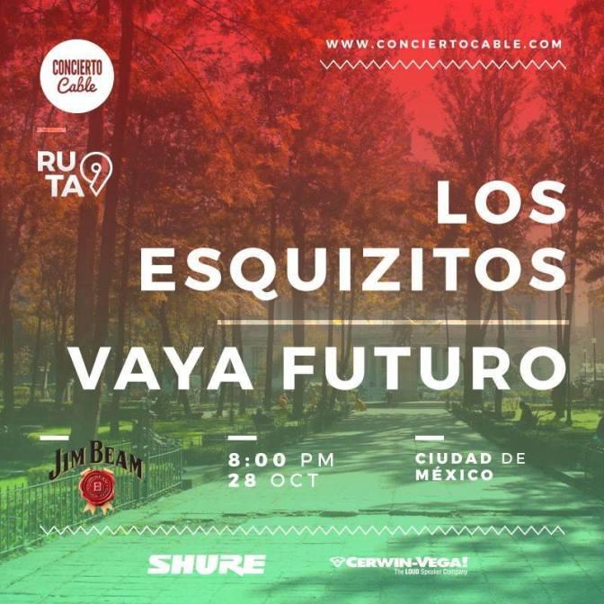 Sexta Parada #Ruta9 Los Esquizitos + Vaya Futuro