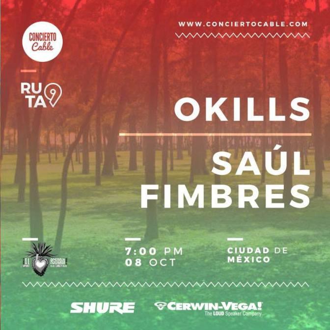 Tercera Parada #Ruta9 Okills + Saúl Fimbres